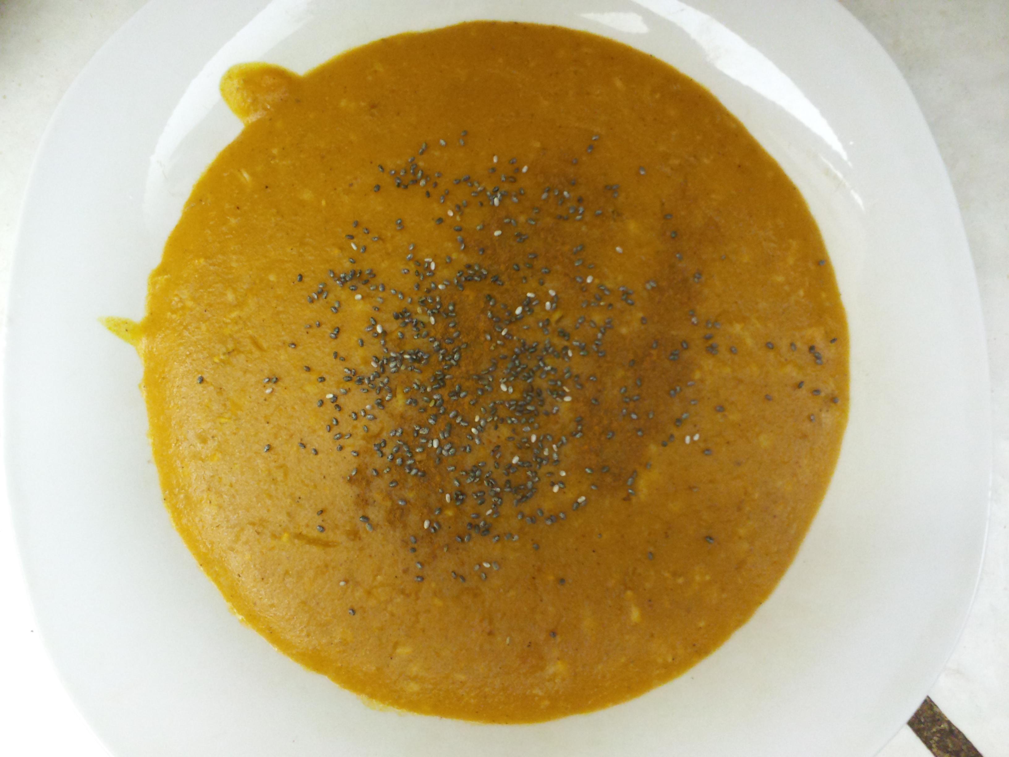My Slow Cooker Pumpkin Steel Cut Oats with Chia & Cinnamon ...