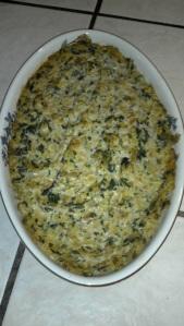 Warm Spinach-Artichoke Dip Chloe