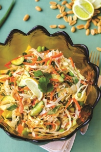 Happy Herbivore Thai crunch salad